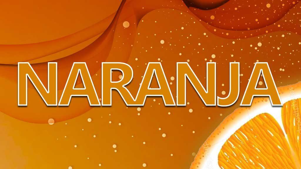 singificado colores naranja