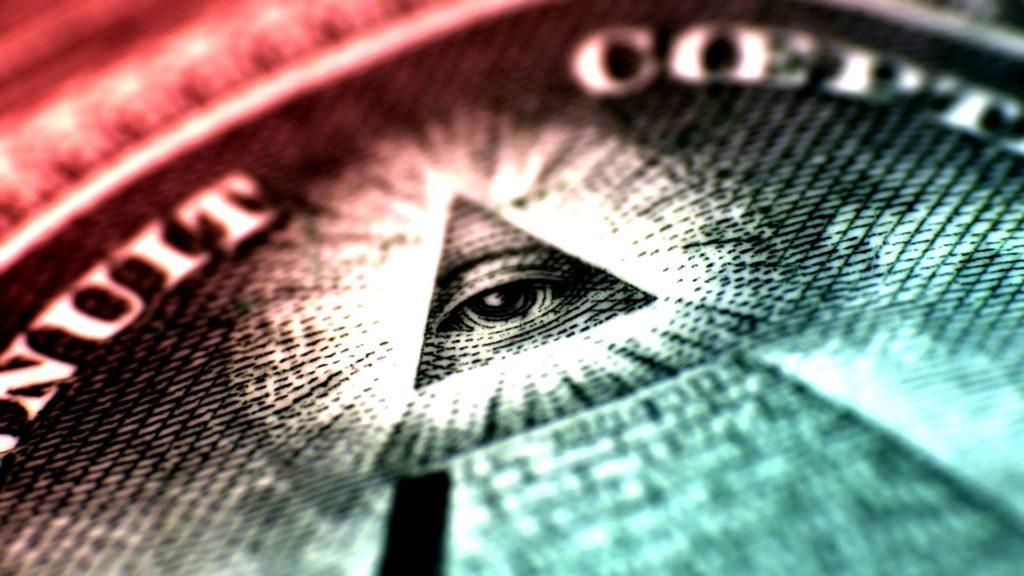 El ojo dentro de la pirámide.